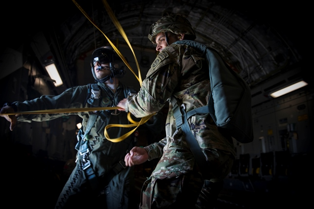 Mobility Airmen Provide Inter-Intra Theater Airlift In Swift Response 16